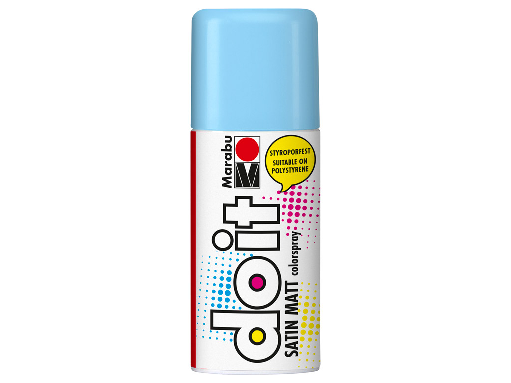 Aerozoliniai dažai do it Satin Matt 150ml 256 pastel blue