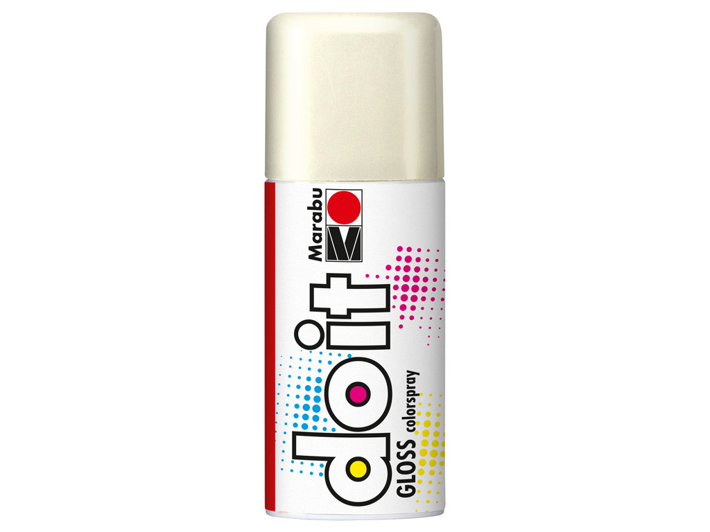 Aerosoolvärv do it Gloss 150ml 471 white