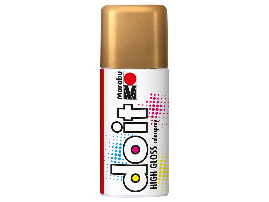 Aerosoolvärv do it High Gloss 150ml 484 gold