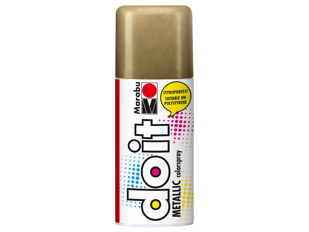 Krāsa aerosolā do it Metallic 150ml 784 gold