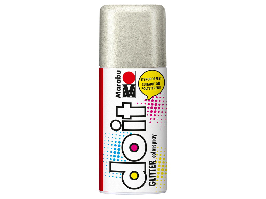 Colorspray do it Glitter 150ml 582 silver