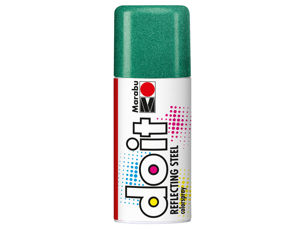 Aerozoliniai dažai do it Reflecting Steel 150ml 566 green