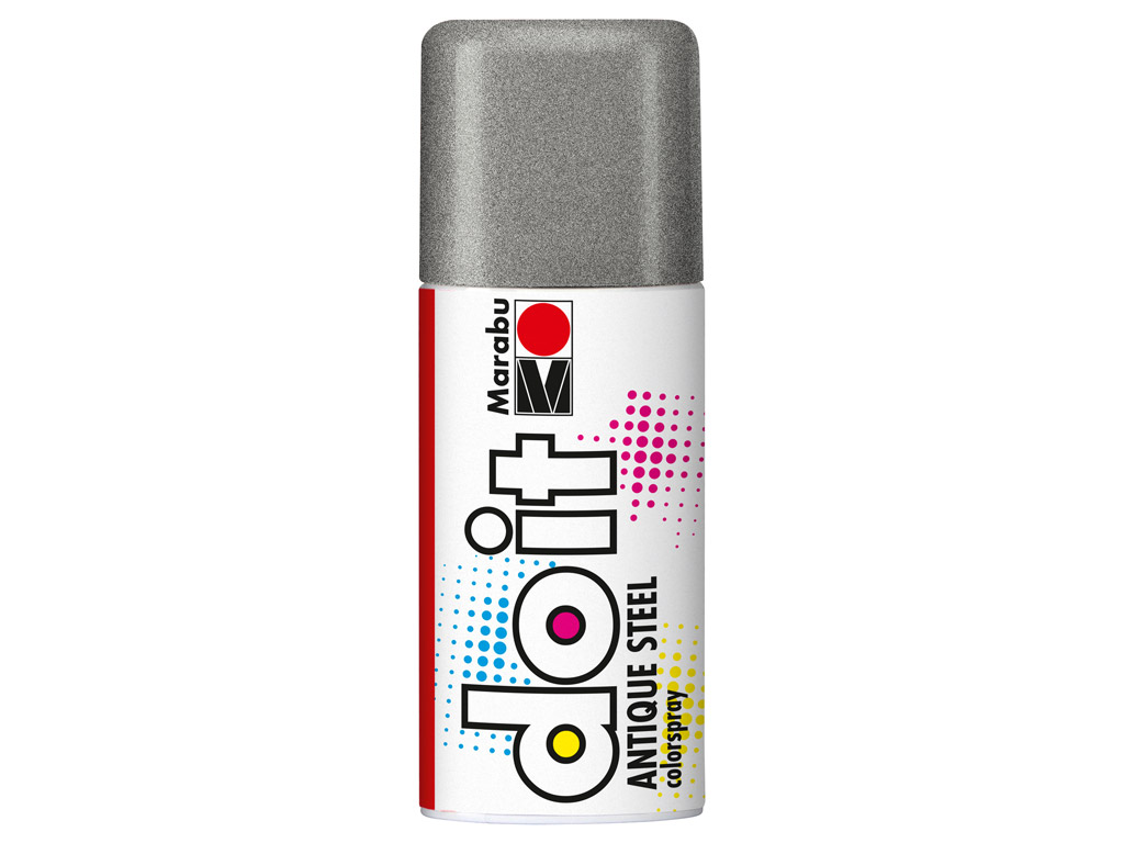 Colorspray do it Antique Steel 150ml 781 silver