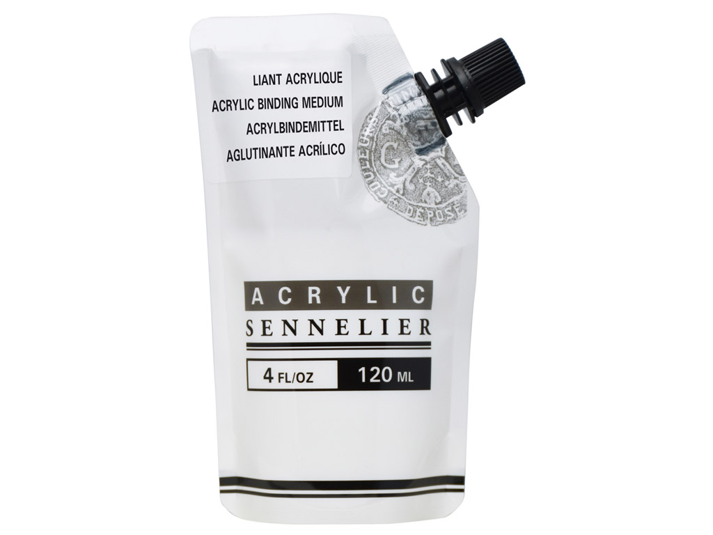 Acrylic binding medium Sennelier 120ml