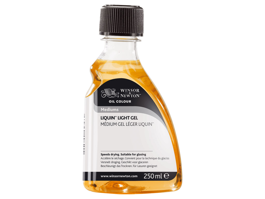 Oil colour medium W&N Liquin Light Gel 250ml