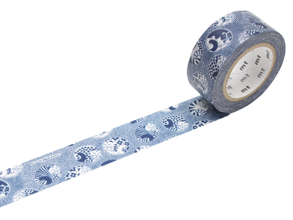 Masking tape mt Lisa Larson 20mmx10m Five cats