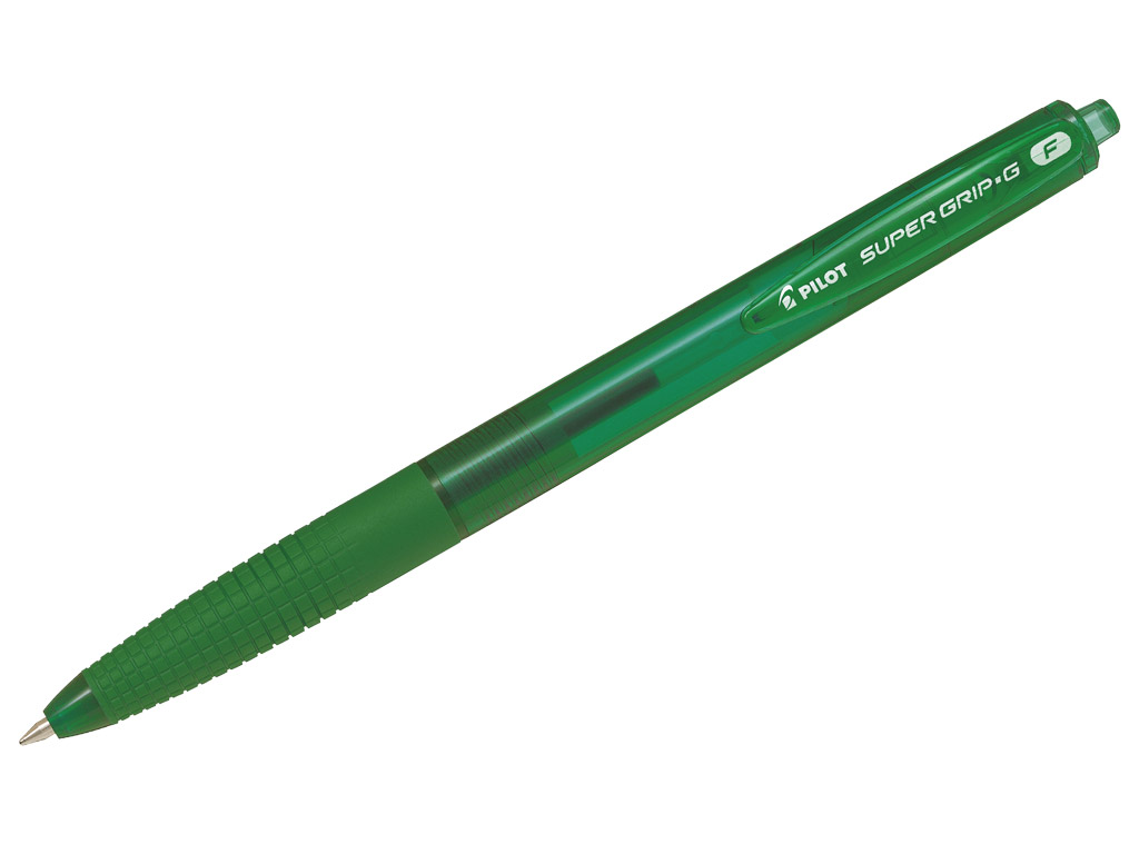 Ballpoint pen Pilot Supergrip G RT 0.7 green