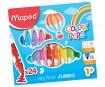 Viltpliiats ColorPeps Early Age Jumbo 24tk pestav