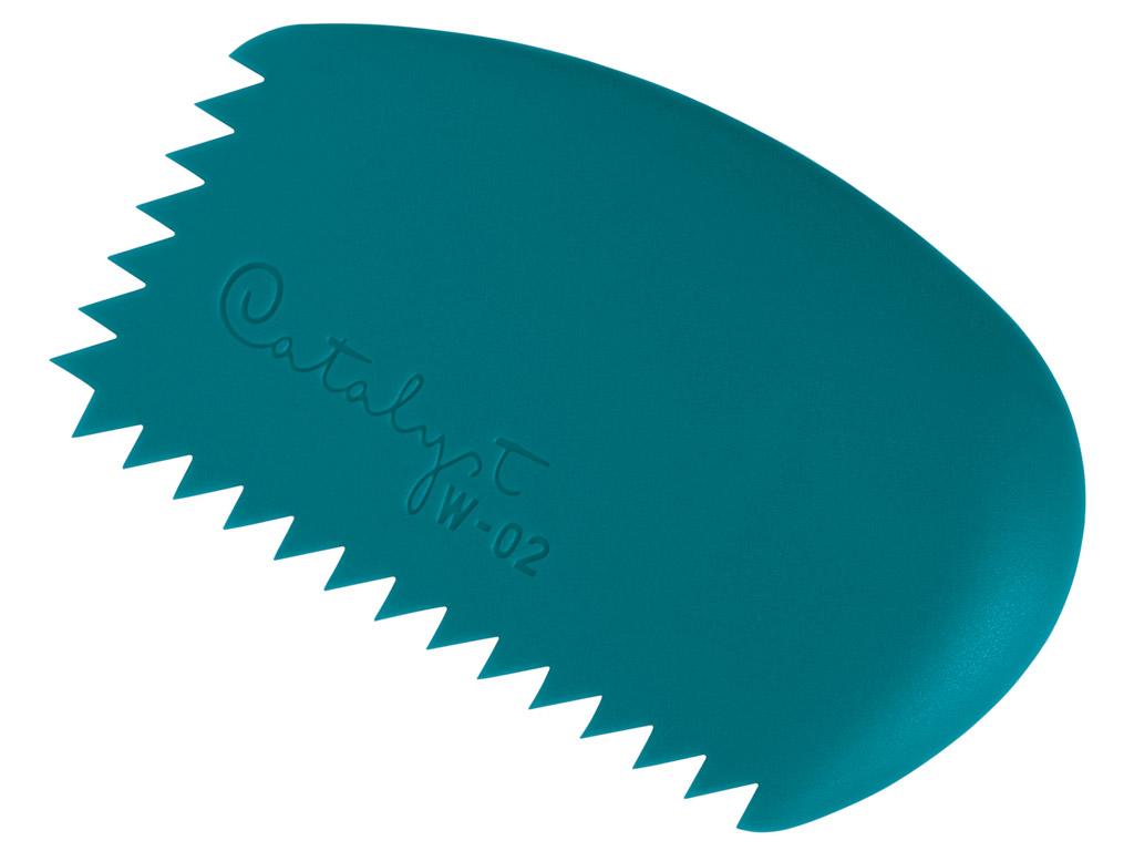 Värvikamm silikoonist Catalyst Wedge W-02 blue