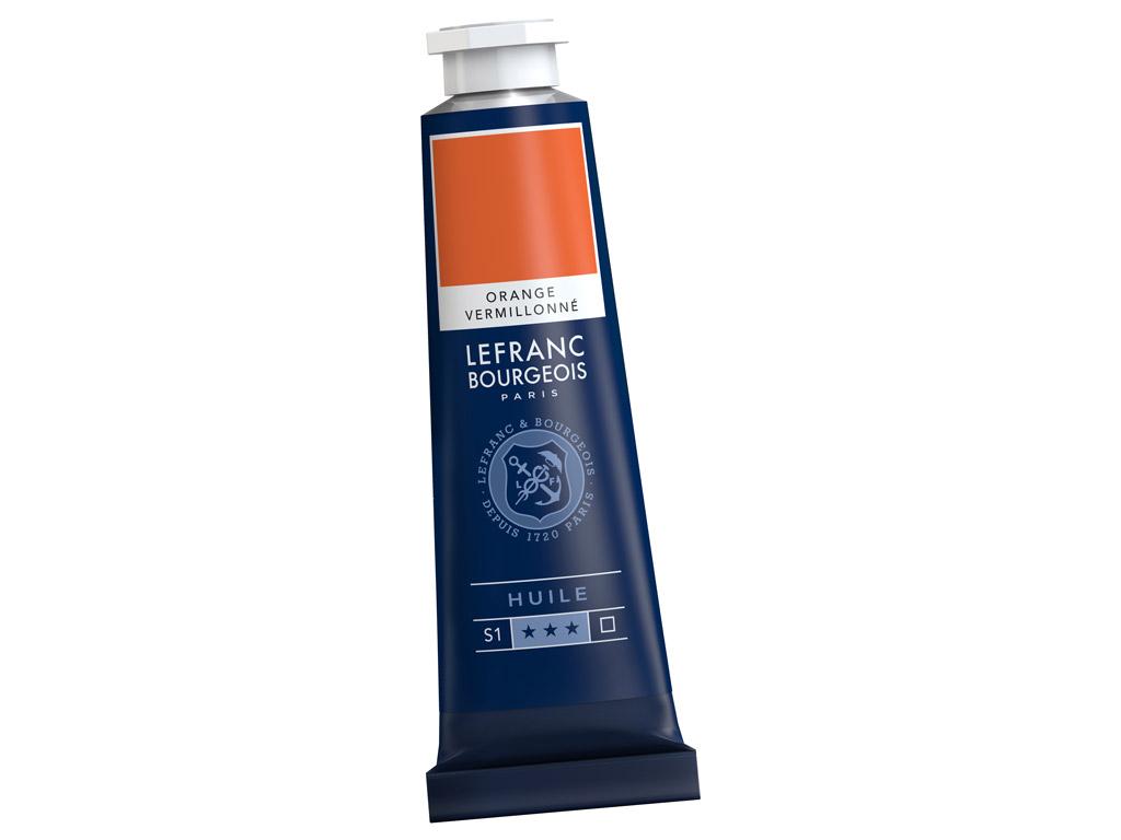 Õlivärv LB Fine 40ml 697 vermilion orange