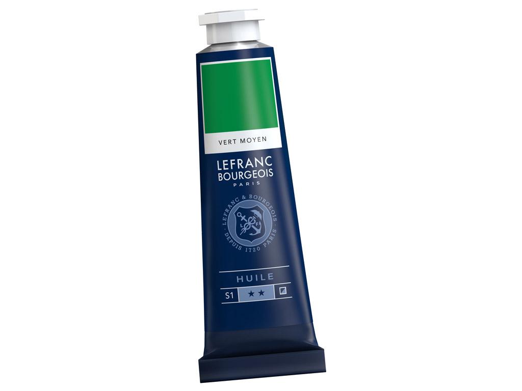 Õlivärv LB Fine 40ml 561 medium green