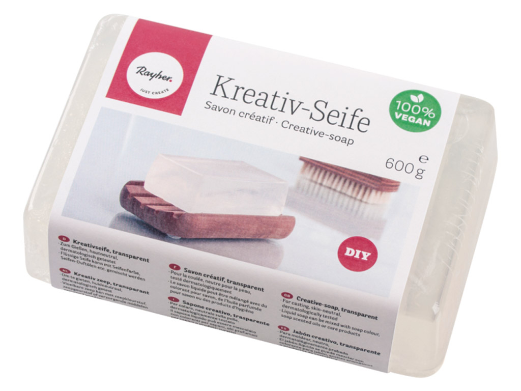 Creative-soap Rayher transparent 600g