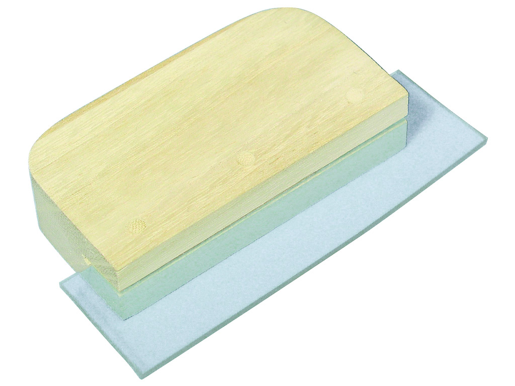 Spatula for mosaic ceramica Rayher 10cm with PVC lip