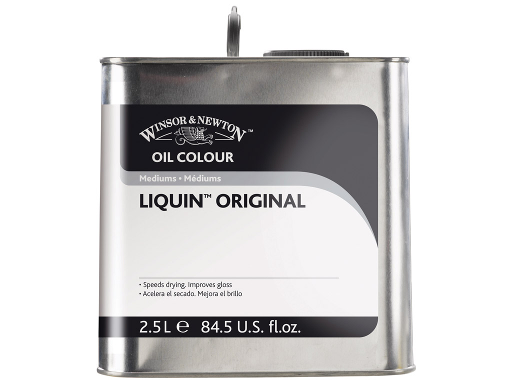 Oil colour medium W&N Liquin Original 2.5L
