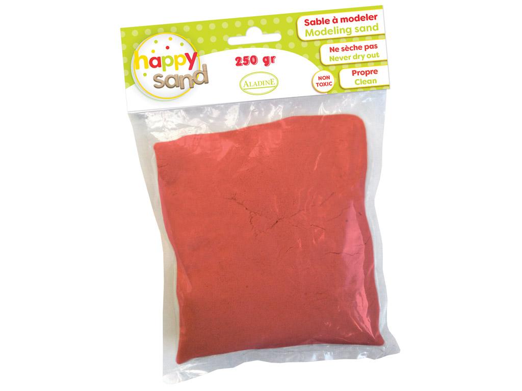 Kinetinis smėlis Aladine Happy Sand 250g raudona