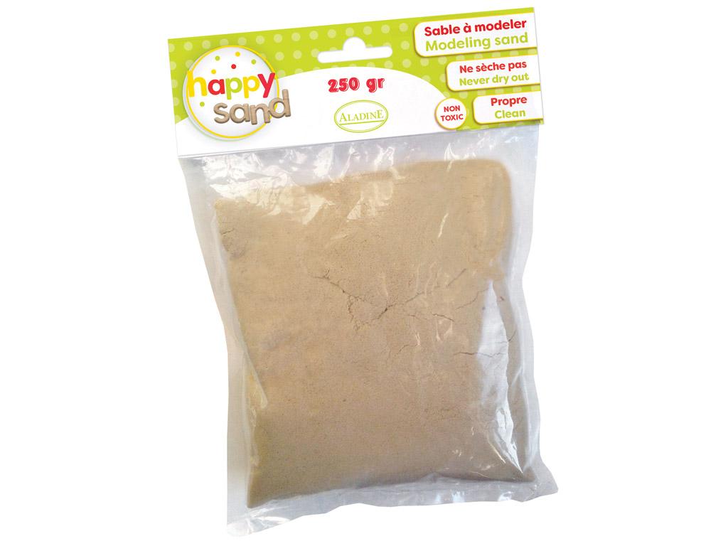 Kinetinis smėlis Aladine Happy Sand 250g natūrali