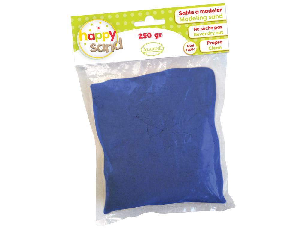 Kinetinis smėlis Aladine Happy Sand 250g tamsiai mėlyna