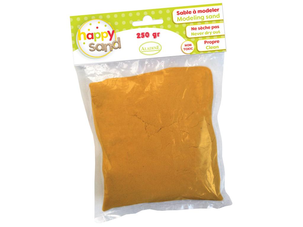 Kinetinis smėlis Aladine Happy Sand 250g oranžinė