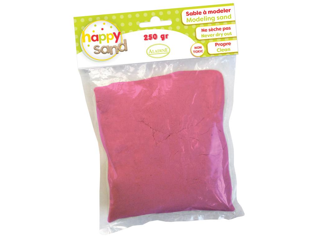 Kinetinis smėlis Aladine Happy Sand 250g rožinė