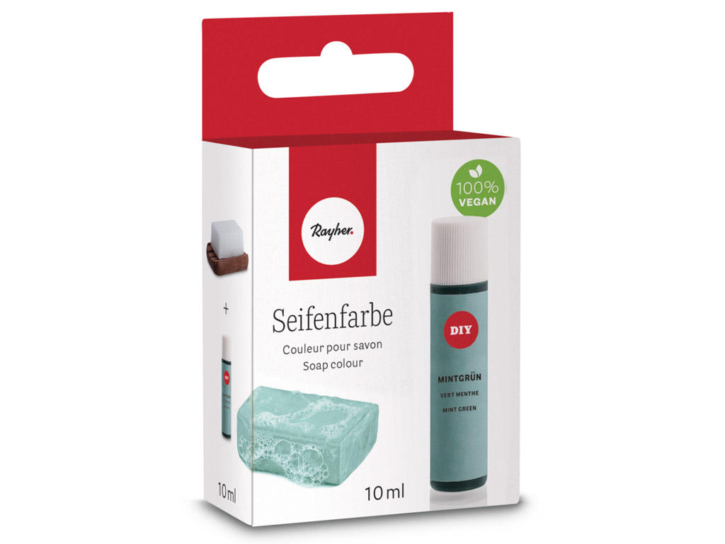 Soap colour Rayher 10ml mint green