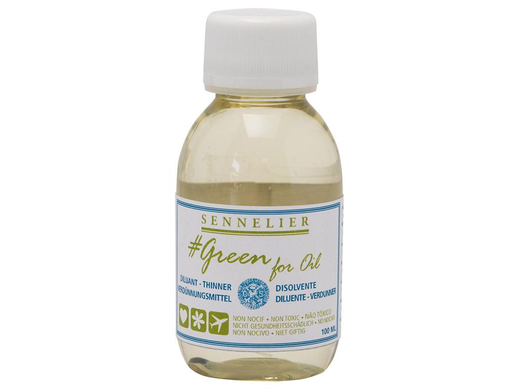 Oil colour thinner Sennelier Green for Oil 100ml