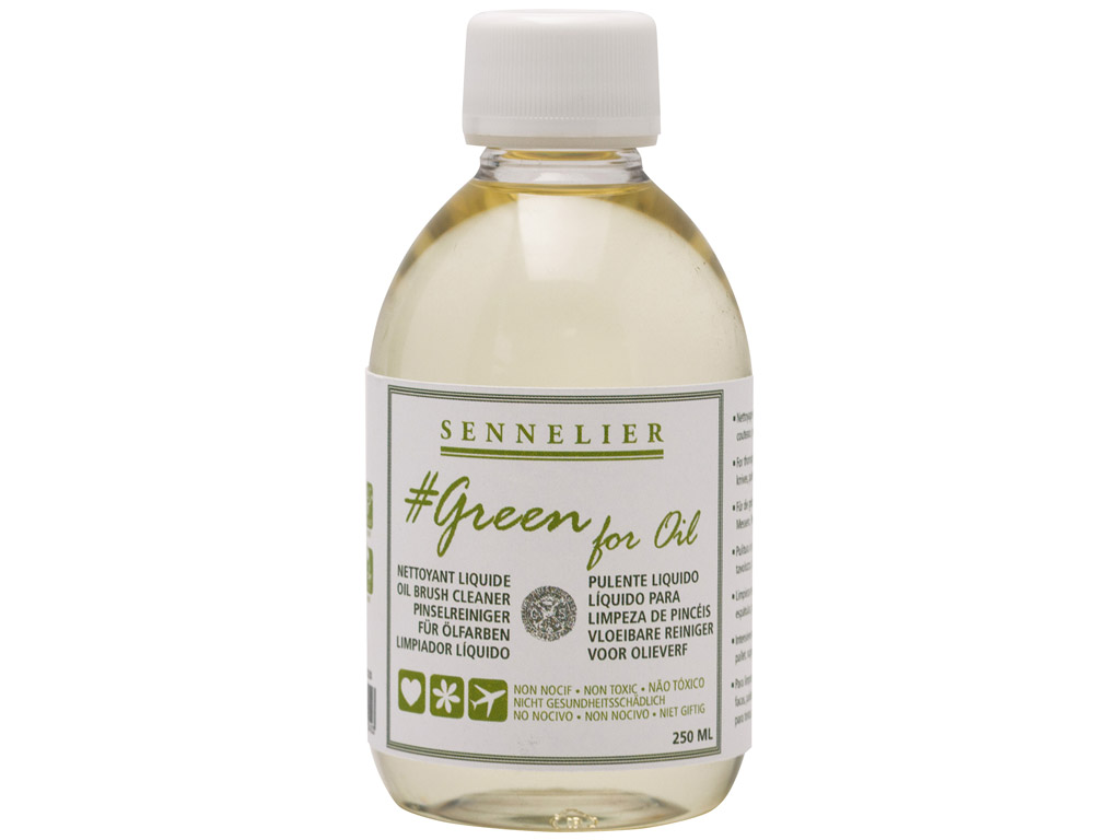 Cleaning fluid Sennelier Green for Oil 250ml
