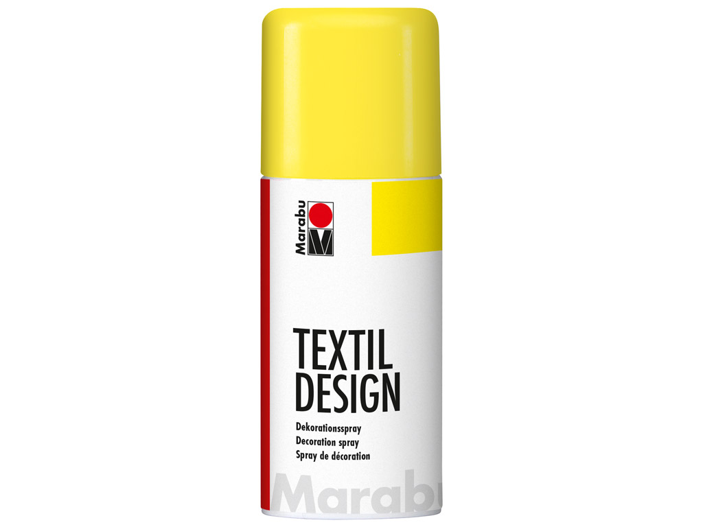 Krāsa tekstilam Textil Design aerosols 150ml 220 sunshine yellow