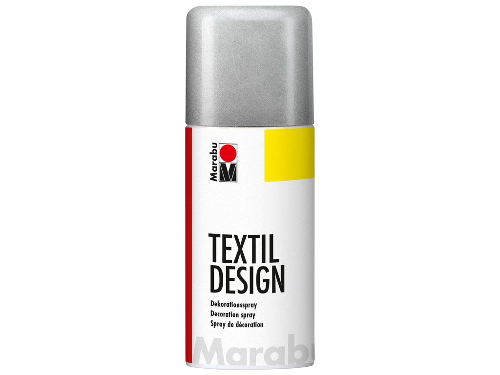 Textile spray Textil Design 150ml 782 metallic-silver