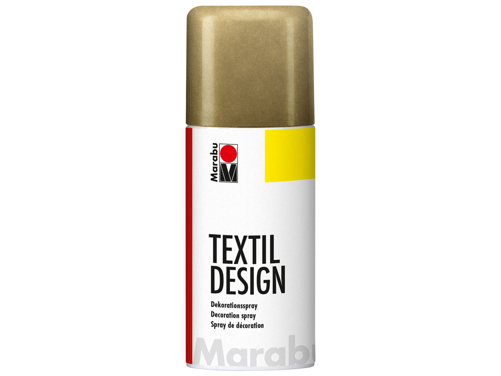 Krāsa tekstilam Textil Design aerosols 150ml 784 metallic-gold