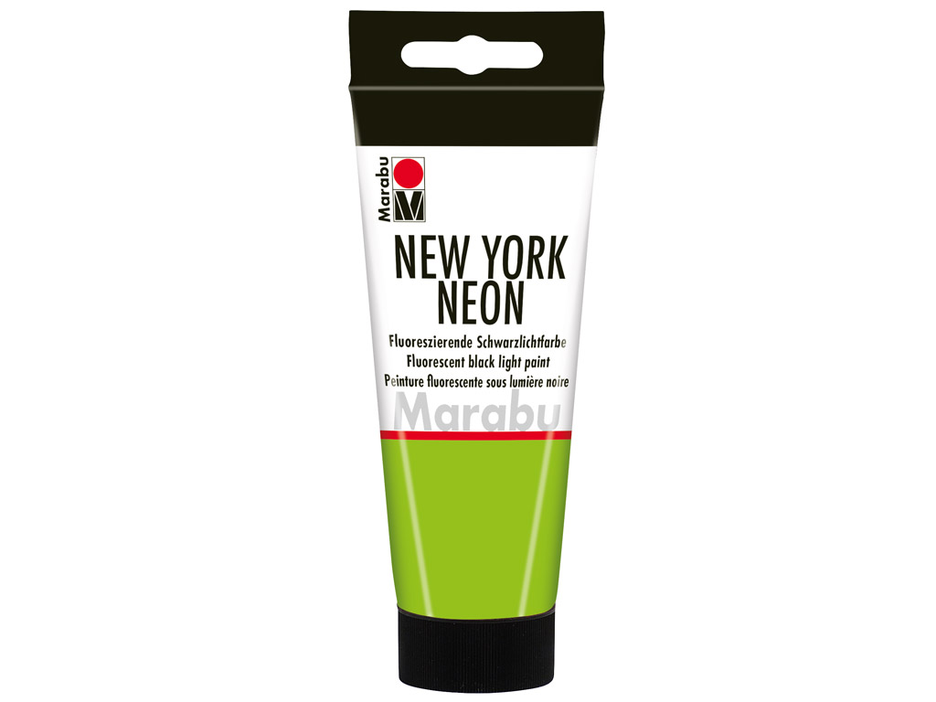 Fluorescent black light paint New York Neon 100ml 365 neon-green