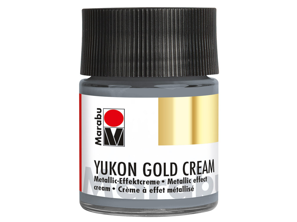 Metallic effect cream Yukon Gold Cream 50ml 795 paladium