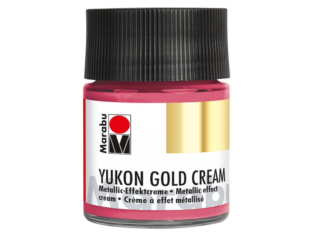 Dekorkrāsa Yukon Gold Cream 50ml 735 metallic-magenta