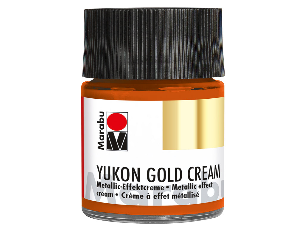 Dekorkrāsa Yukon Gold Cream 50ml 787 metallic-copper