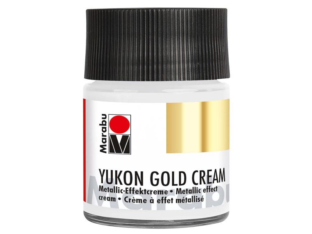 Dekorkrāsa Yukon Gold Cream 50ml 782 metallic-silver