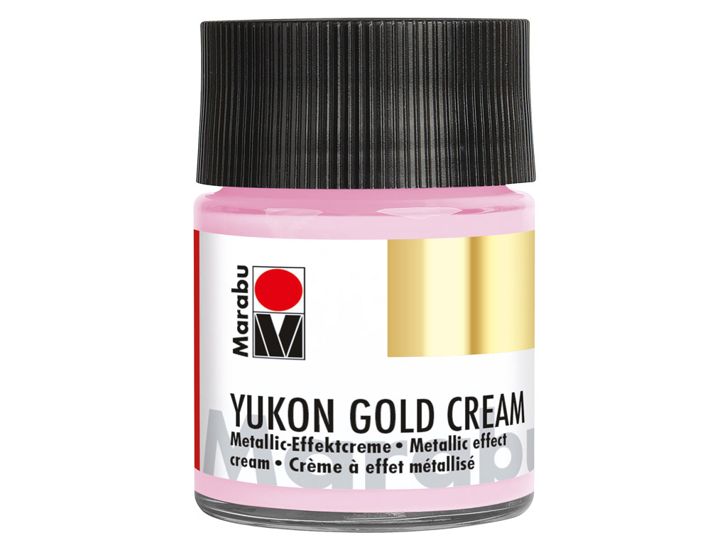 Metallic effect cream Yukon Gold Cream 50ml 733 metallic-pink