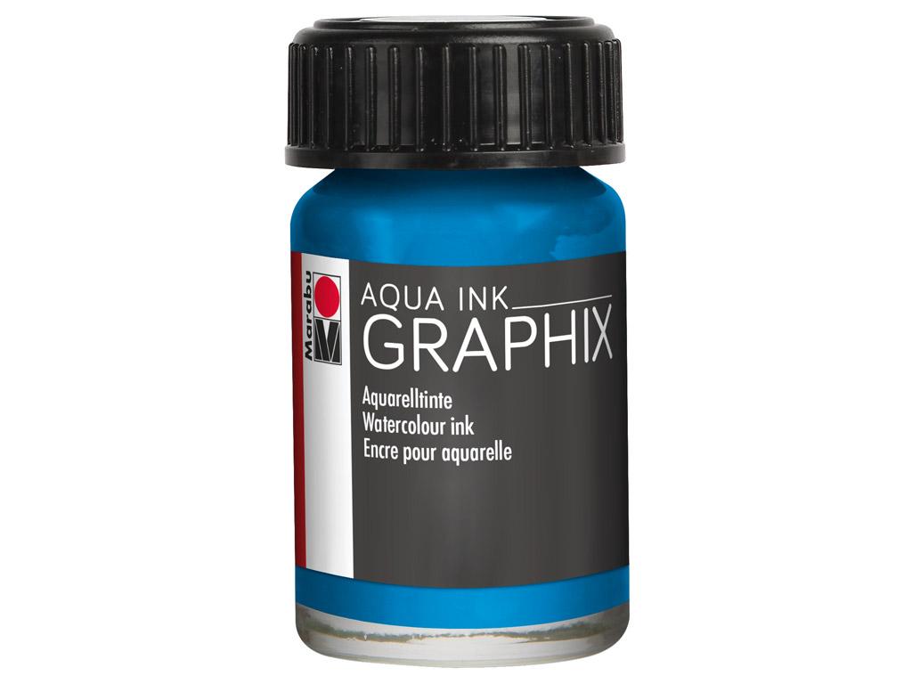 Watercolour ink Graphix 15ml 056 cyan