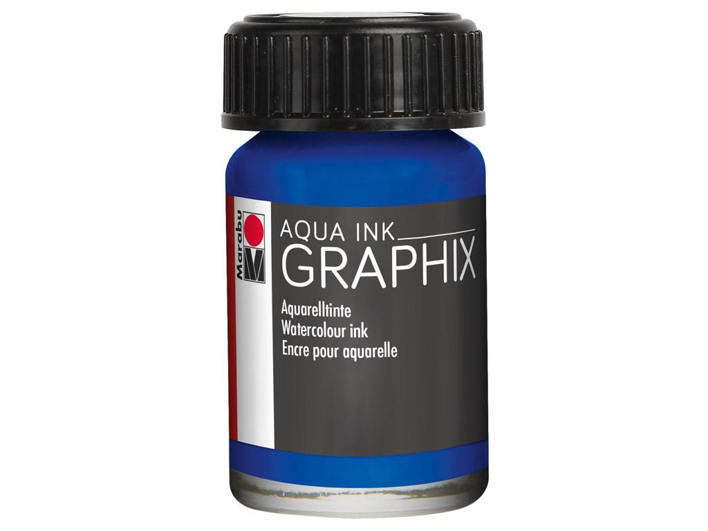 Watercolour ink Graphix 15ml 055 ultramarine