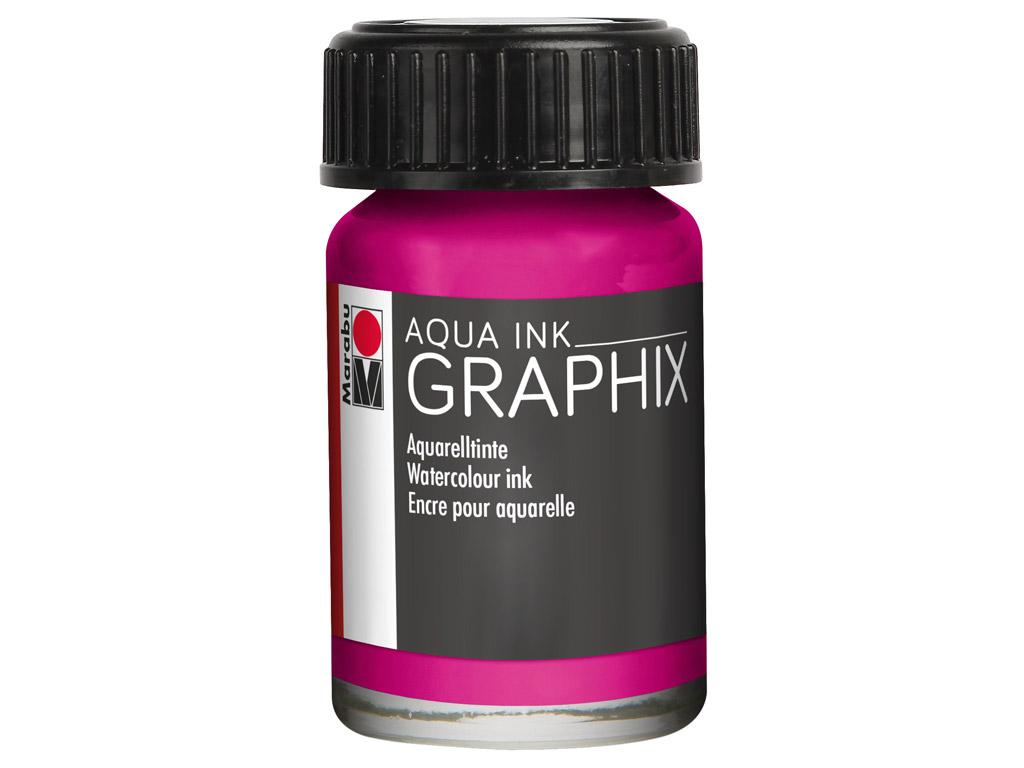 Akvarelltint Graphix 15ml 014 magenta