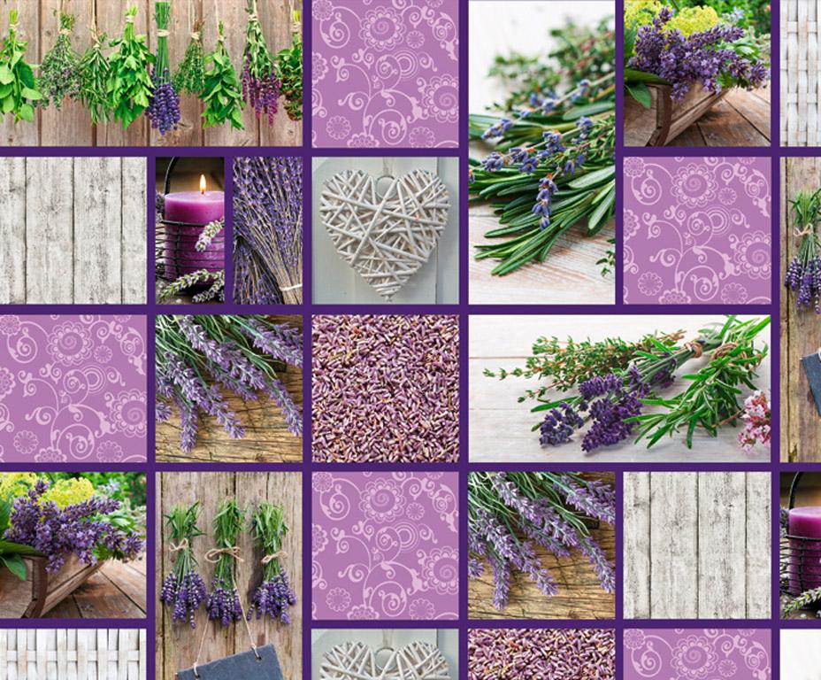 Kartong pildiga Ursus 49.5x68cm/300g Cottage Lavender