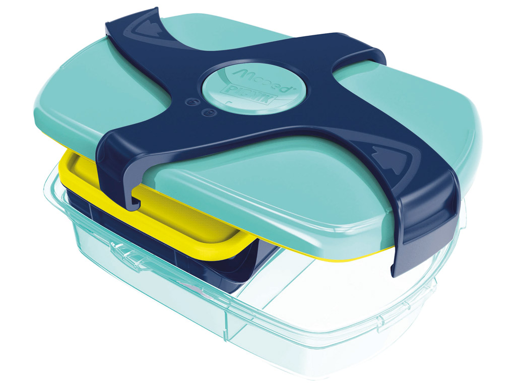 Lunch box Maped Picnik Kids Concept with 3 compartments 1.78l blue/green