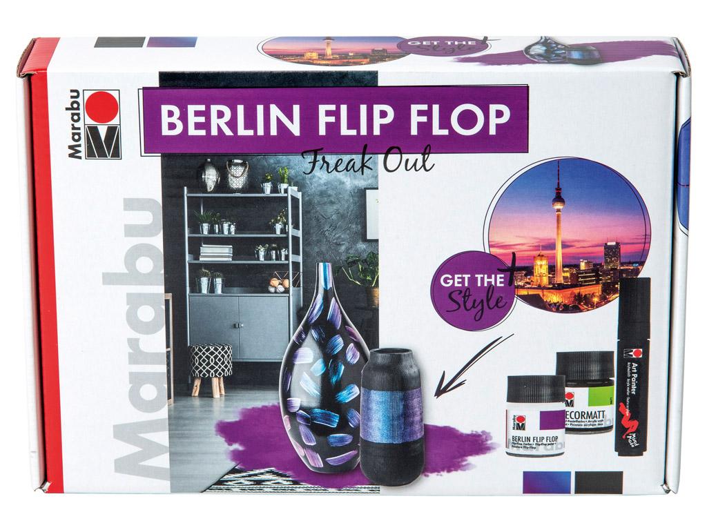 Dekoorvärvi komplekt Berlin Flip Flop Freak Out