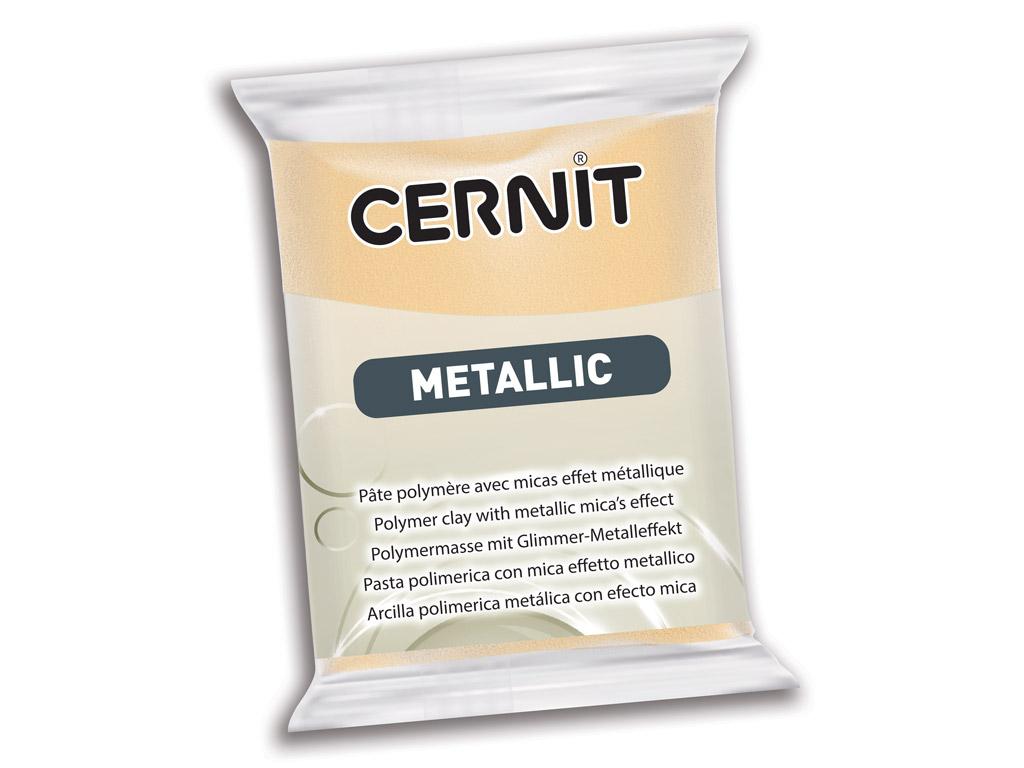 Polimērmāls Cernit Metallic 56g 045 champagne