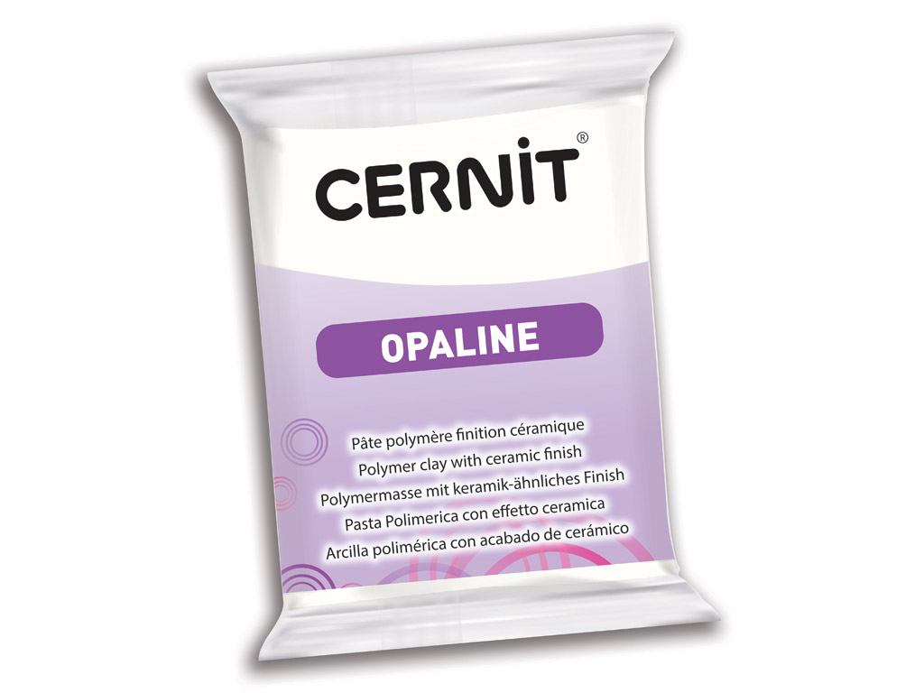 Polymer clay Cernit Opaline 56g 010 white