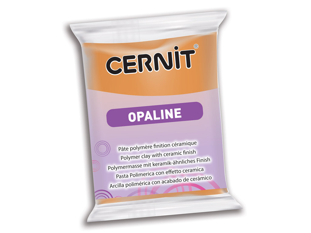 Polymer clay Cernit Opaline 56g 807 caramel