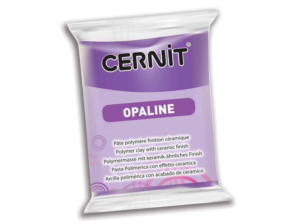 Polymer clay Cernit Opaline 56g 900 violet