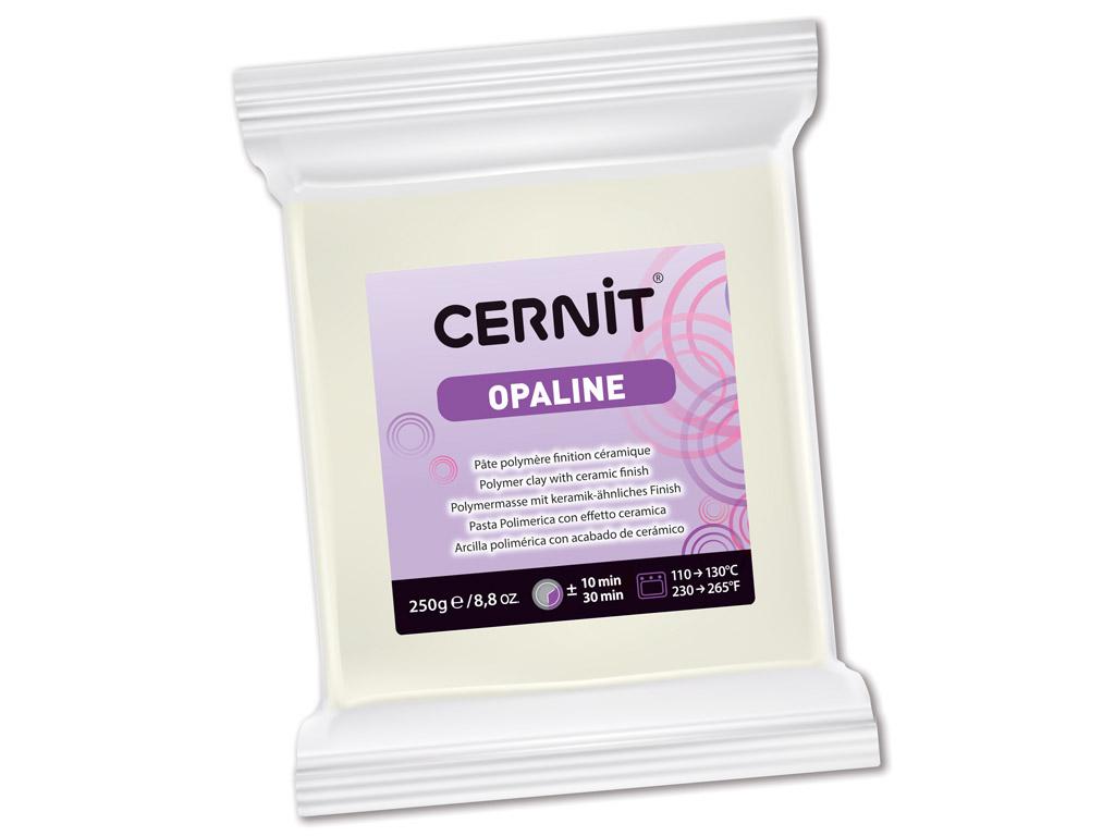 Polümeersavi Cernit Opaline 250g 010 white