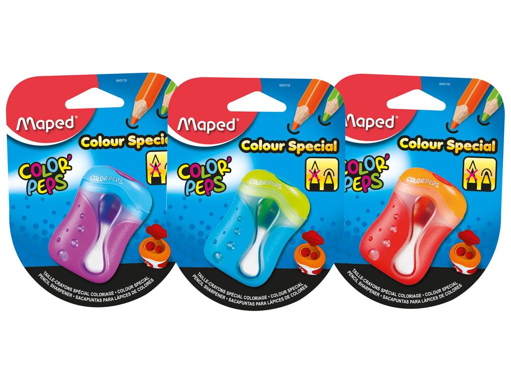 Drožtukas Maped su 2 skylutėmis ColorPeps blister.