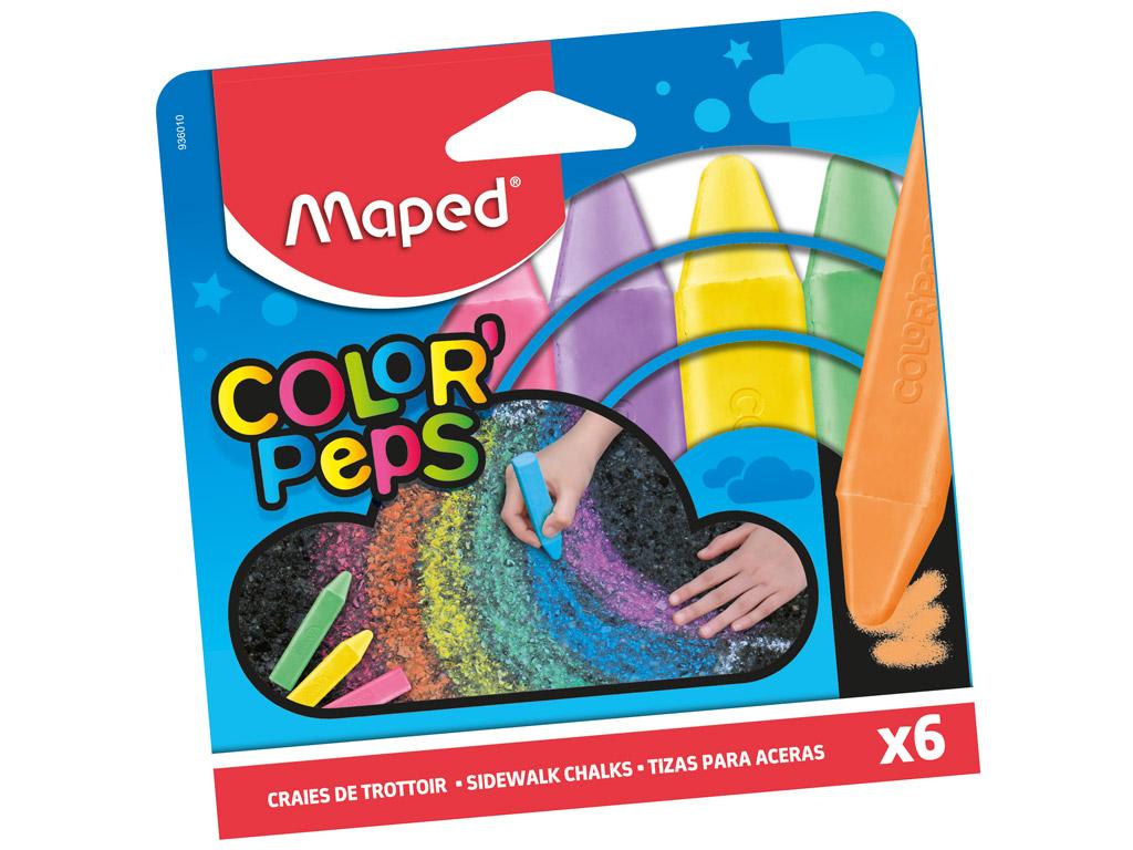 Ielas krīti Maped ColorPeps 6gab.