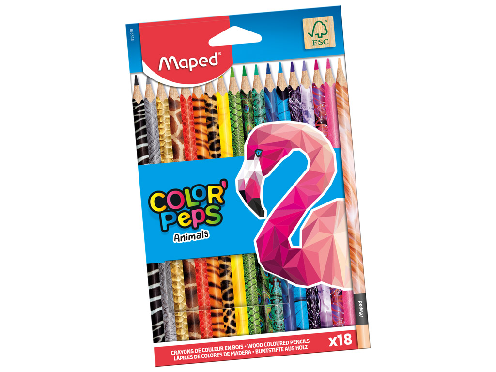 Pastelli Maped Color Peps Animals