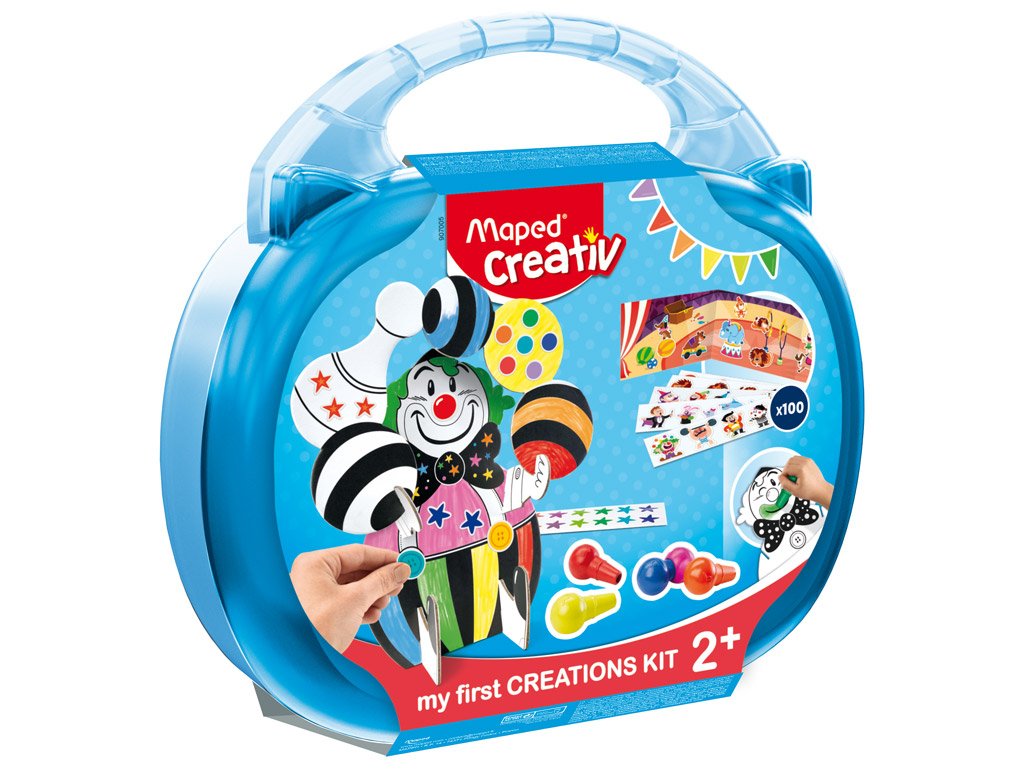 Creation kit Maped Creativ Early Age in plastic case